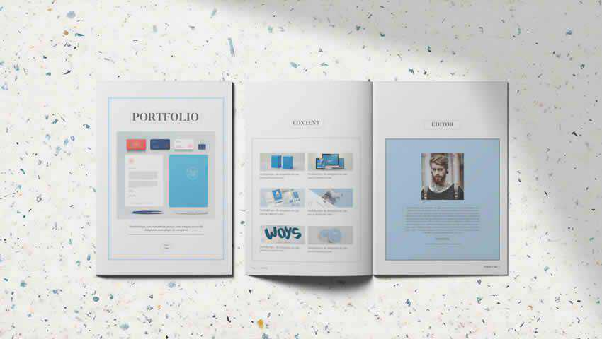 Page Photography Portfolio Template
