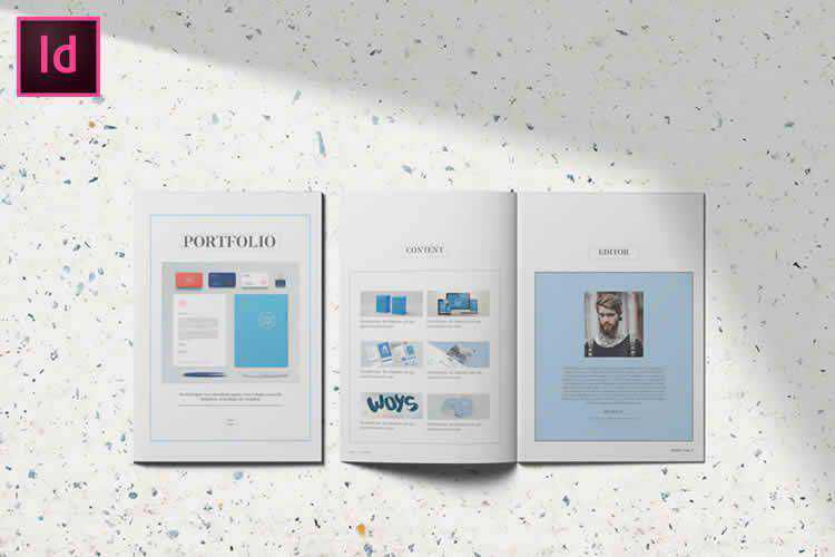 10 Free Portfolio & Lookbook Templates for Adobe InDesign