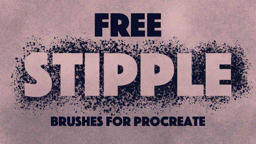 Stippling Brush Set width=