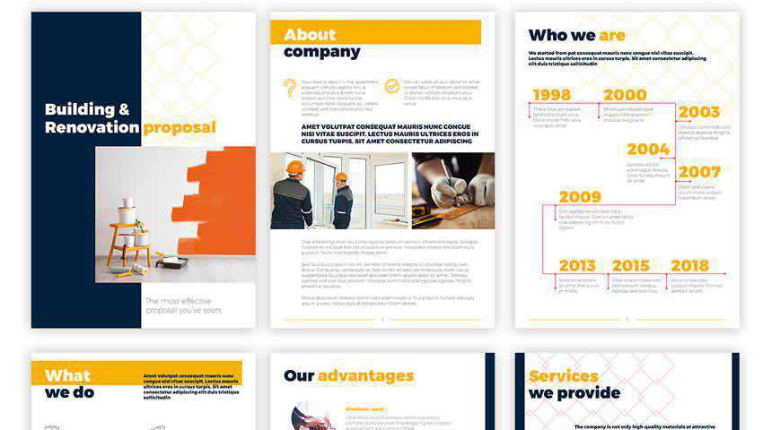 Business Proposal Presentation Template