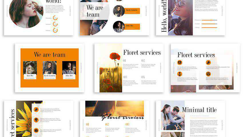Floret Business Proposal Template