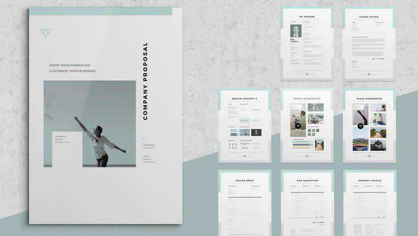 InDesign Company Proposal Template