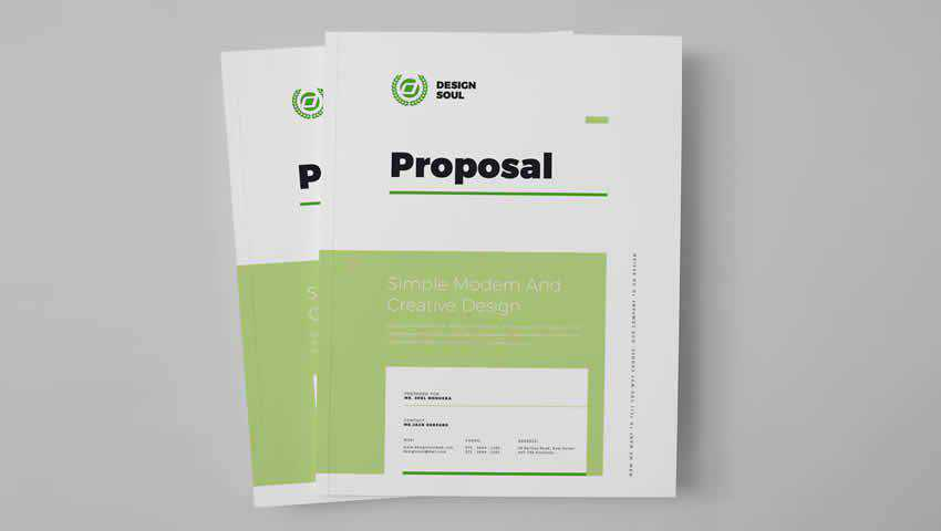 Professional InDesign Proposal Template