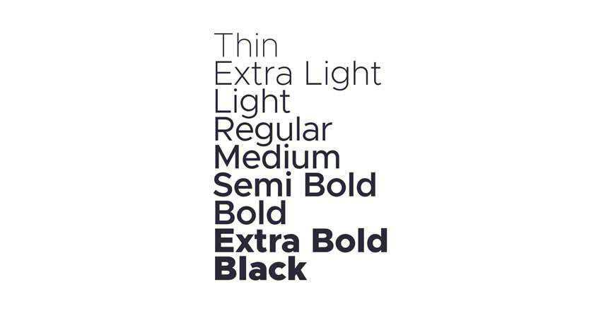 The Metropolis Typeface