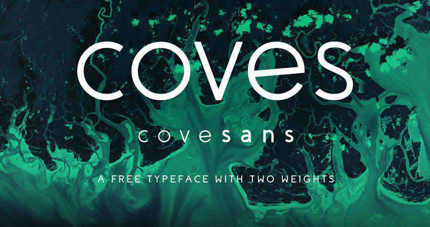 Coves sans serif free font family typeface