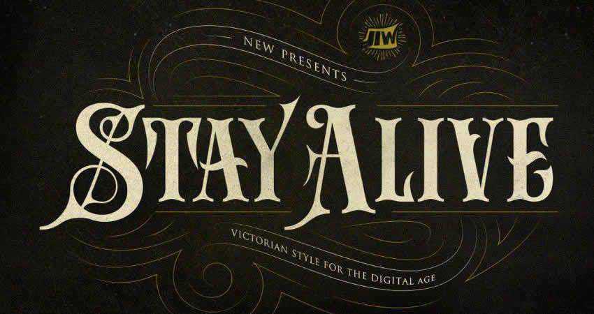 Stay Alive Sans
