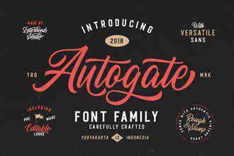 Autogate Font-Family