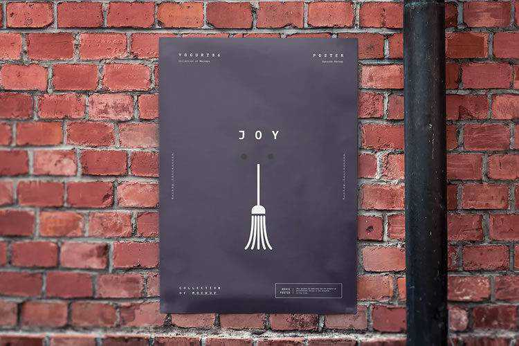 15 Free High-Resolution Poster Mockup PSD Templates for 2021