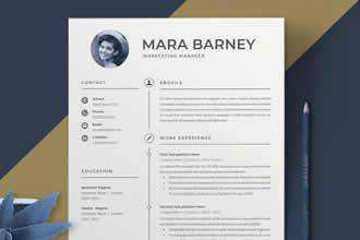 20 Beautiful Amp Free Resume Templates For Designers