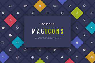Magicons Icons for Web Mobile