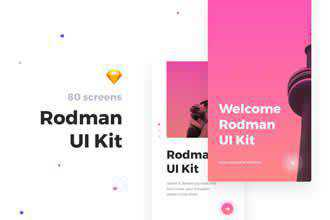 Rodman Mobile UI Kit