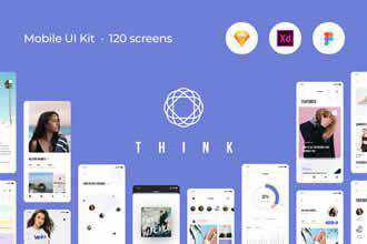 Think Mobile UI Kit