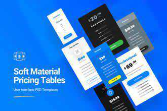 Material Pricing Table Kits