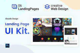 Landing Page UI Kits