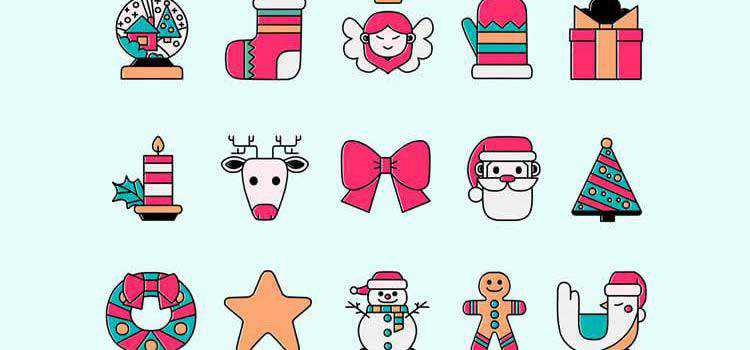 Example from 50 Free Christmas Templates & Resources for Designers