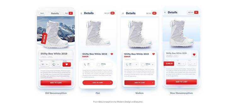 Example from What's the next UI design trend?