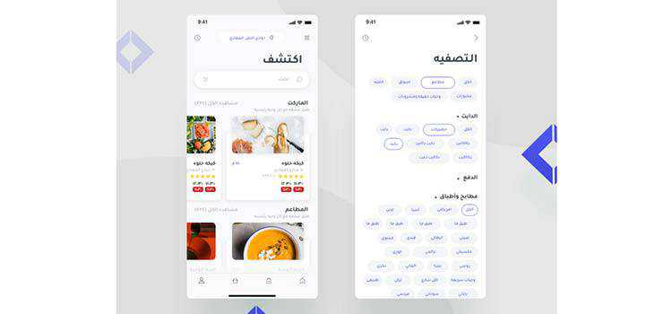 Example from How to Design for Arabic Users