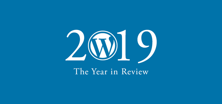 Example from The 2019 WordPress Year in Review