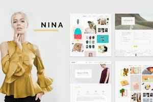 Nina Minimal Portfolio Theme