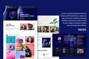 VAUSS Portfolio Theme