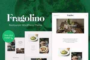 Fragolino Restaurant Theme