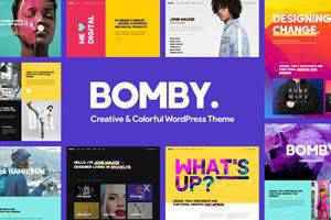Bomby Multi-Purpose Theme