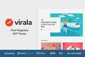 Viral Magazine Theme