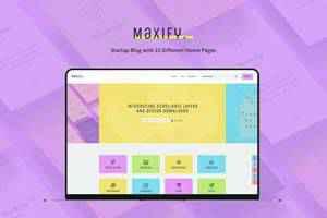 Maxify Magazine Theme