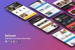 BeSmart Landing Page