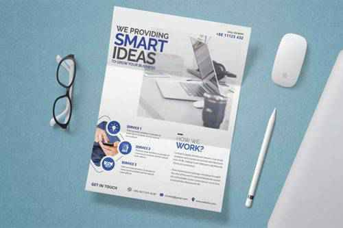 The Design Essentials of a Modern Business Flyer