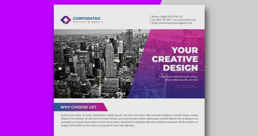 Corporate Flyer Template AI