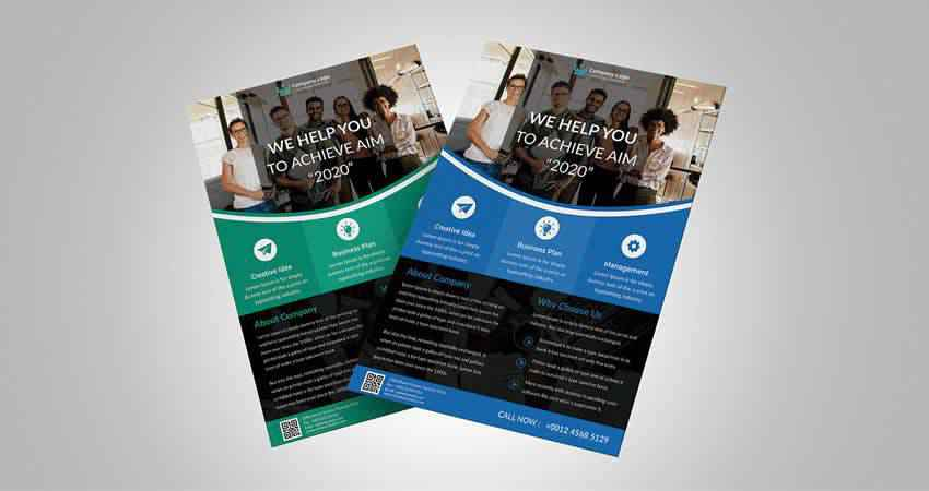 Business Flyer Templates Photoshop PSD