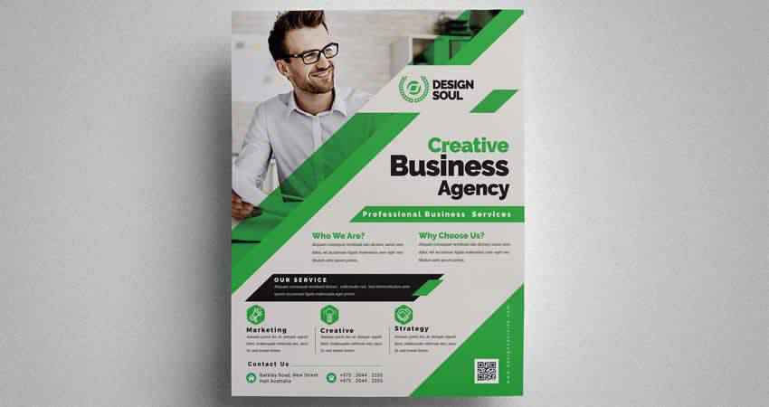 Creative Business Corporate Flyer Template Photoshop PSD