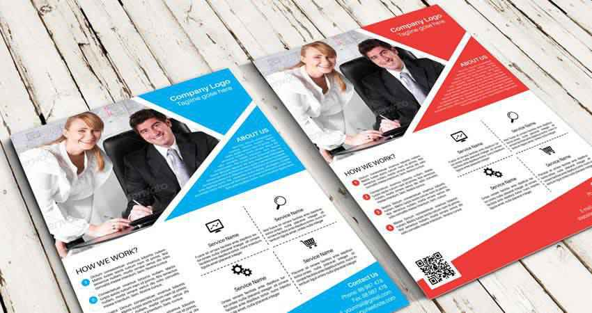 Flyer & Poster Mockup Templates Photoshop PSD