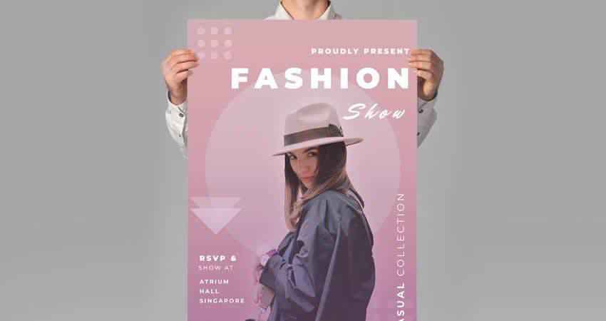 Fashion Flyer Template Photoshop PSD