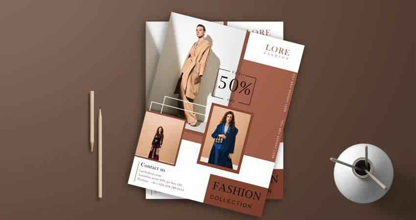 Professional Fashion Flyer Template Photoshop PSD