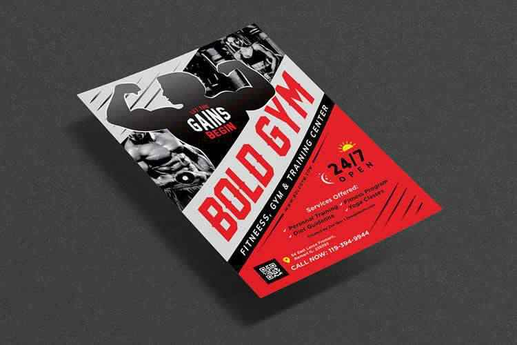 10 Best Free Fitness & Gym Flyer Templates