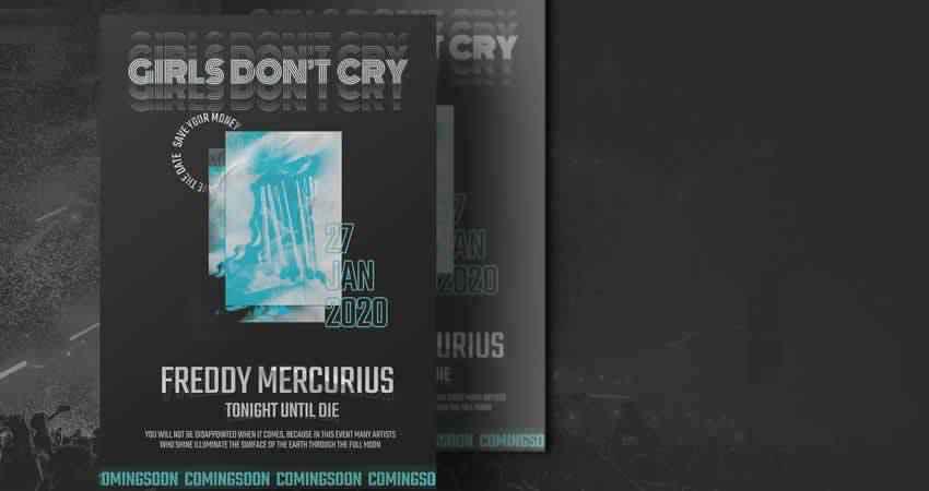 Hyper Concert Flyer Template Photoshop PSD