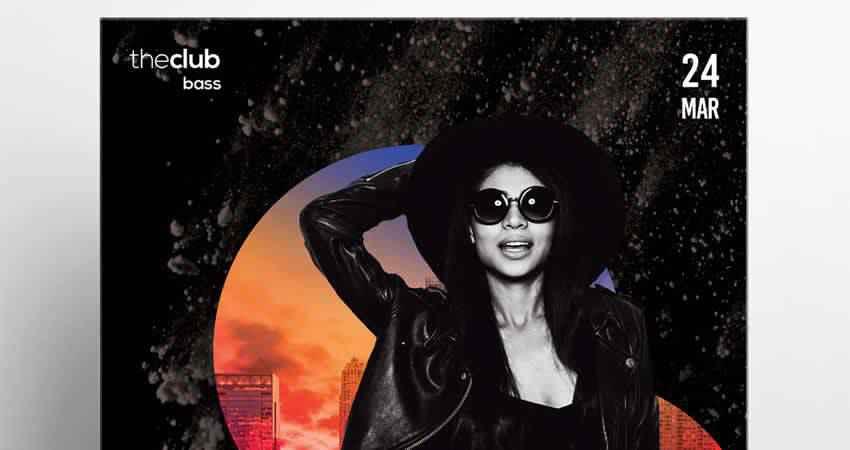 Club Alternative Flyer Template Photoshop PSD
