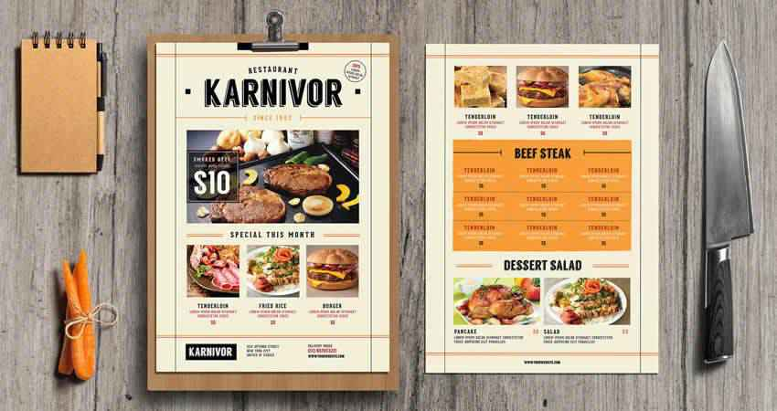 15 Best Free Restaurant Food Flyer Templates For 2020