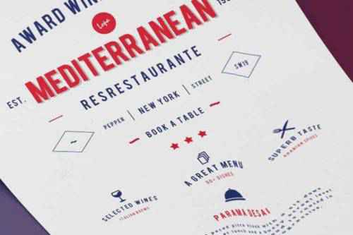 The 15 Best Free Templates for Creating Restaurant & Food Flyers