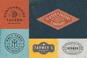 Vintage Logos & Badges