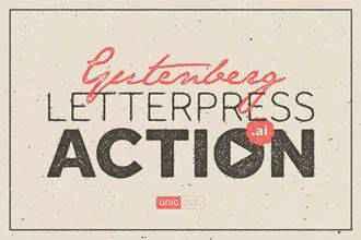 Letterpress Action