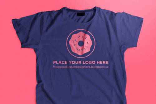 20 Free High-Resolution T-Shirt Mockup PSD Templates for Designers