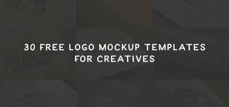 Example from 30 Free Logo Mockup PSD Templates for Creatives