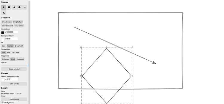 Example from Excalidraw
