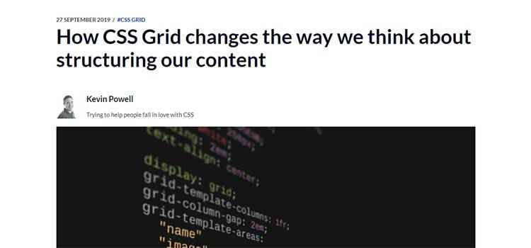 Example from How CSS Grid changes the way we think about structuring our content