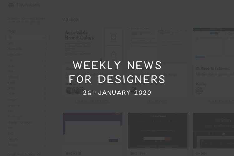 Weekly News for Designers № 524