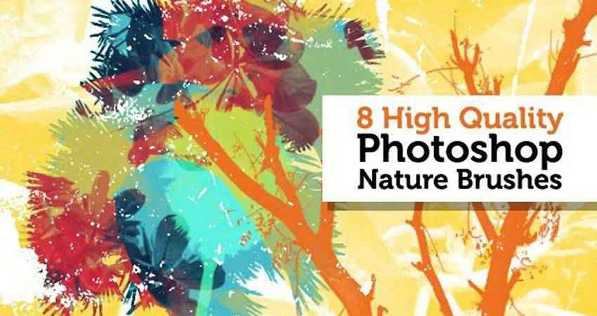 High Quality free photoshop nature brush sets