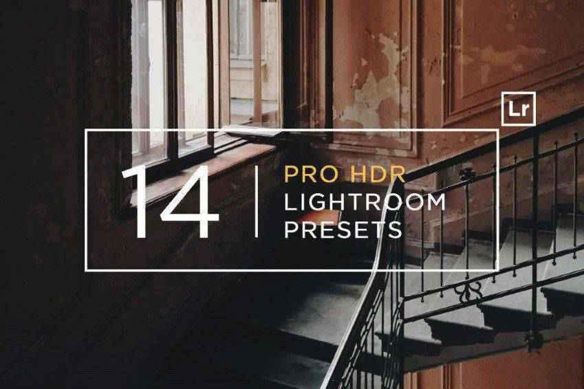 14 Pro HDR Lightroom Presets